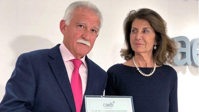 Homenaje de CAEB a los vicepresidentes Aurelio Vázquez y Pau Bellinfante