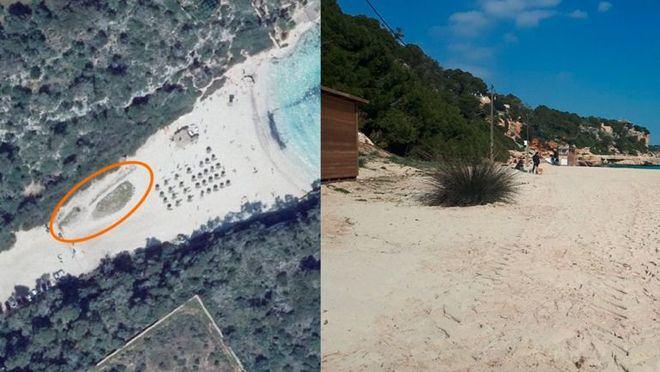 El GOB denuncia la destrucción de una duna de Cala Llombards