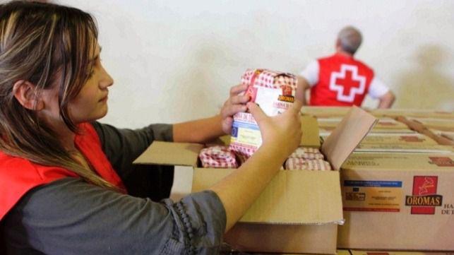 Creu Roja distribuye más de un millón de kilos de alimentos en Balears