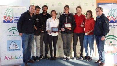 Silvia Mas y Sergi Escandell, campeones de España en 470 y RSX