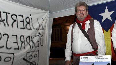 Jaume Sastre celebra el Día de Balears con una huelga de hambre de tres días en Barcelona