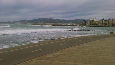 Alerta amarilla en Balears por fuerte viento