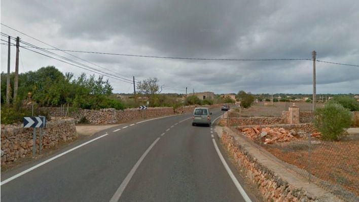 Muere un motorista de 63 años en un choque frontal contra un turismo en Ses Salines
