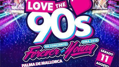 Love the 90's llega a Mallorca al ritmo de Gala, Rozalla y Chimo Bayo