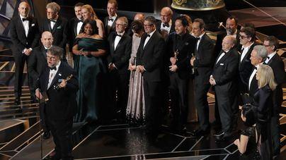 Guillermo del Toro triunfa en los Oscar con 'La forma del agua'