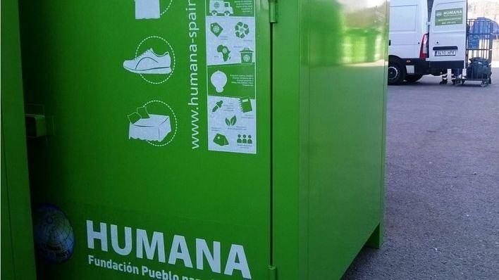 Humana recupera 347 toneladas de ropa usada en Balears en 2017