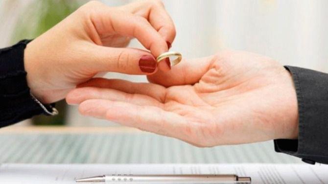 Las demandas de disolución matrimonial bajan un 2,4 por ciento