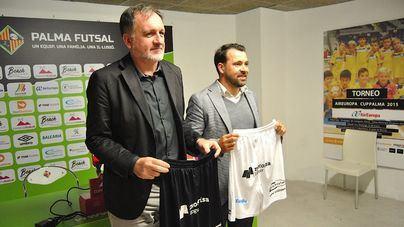 El Palma Futsal presenta el nuevo acuerdo de colaboración con Motorisa