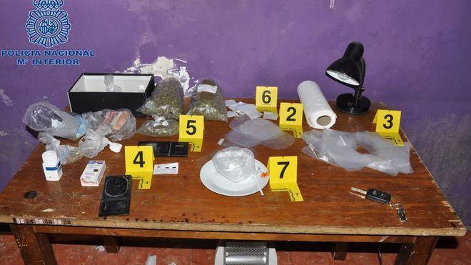 Diez detenidos en la redada antidroga del Rafal, Son Ferriol, Son Banya y Llucmajor