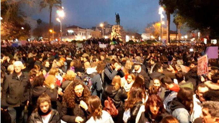 La jornada contra la desigualdad concluye con una masiva manifestación en Palma