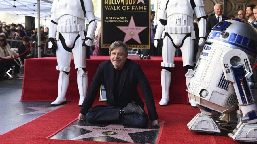 Mark Hamill ya tiene su estrella en el paseo de la fama de Hollywood