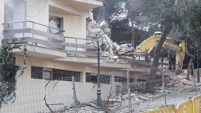 Concluye la demolición del Hotel Porto Petro