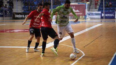 Duro golpe al Palma Futsal contra el Osasuna M antes de la Copa de España