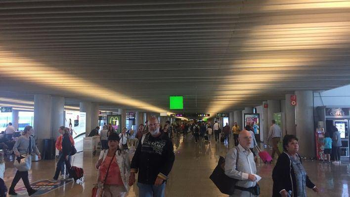 La cifra de pasajeros en Son Sant Joan crece un 8,5 por ciento en febrero