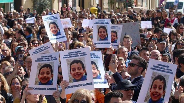 El niño Gabriel murió estrangulado el primer día de su desaparición
