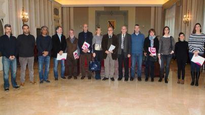 El Consell Assessor d'IB3 en su primera reunión en el Parlament tras tomar posesión