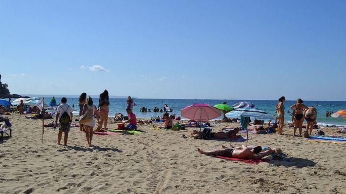 Imagen habitual de las playas