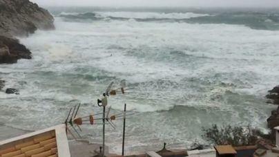 La borrasca 'Gisele' llega a Balears con fuertes vientos
