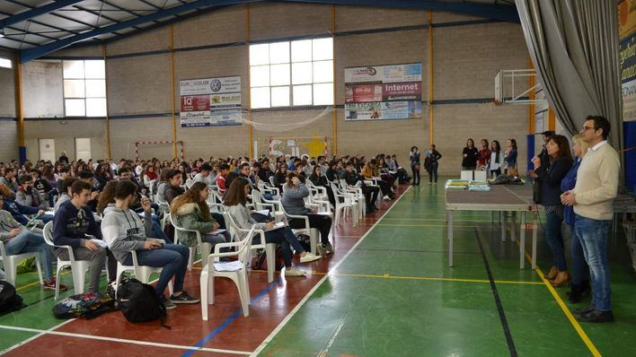 Cerca de 600 alumnos se encuentran en Manacor para las pruebas Canguro