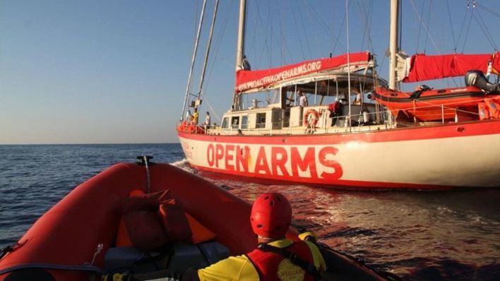 Italia inmoviliza el barco de Open Arms acusado de inmigración ilegal