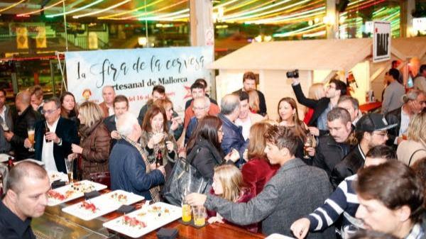 10.000 personas en la I Feria de la cerveza artesanal de Mallorca