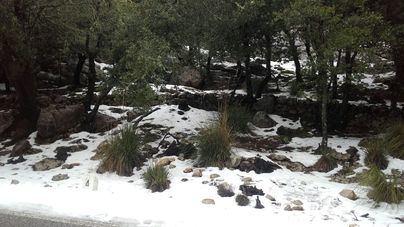 Protección Civil alerta por nevadas y fuertes vientos este martes en Balears