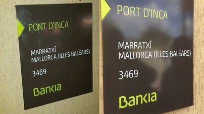 Bankia subsana en horas los errores en la rotulación de sus oficinas