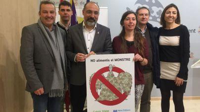 Palma retiró mil toneladas de toallitas húmedas en 2017