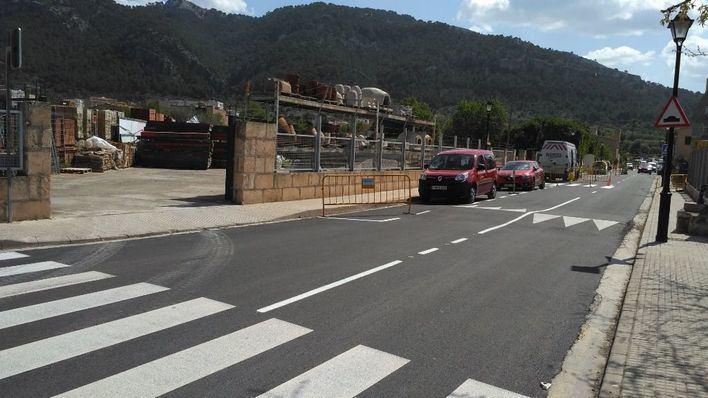 Andratx repara y mejora la Calle Habana