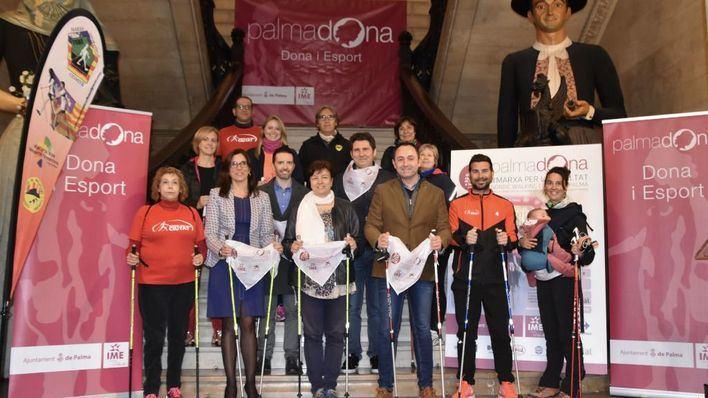 850 inscritos en la III Marxa per la Igualtat Nordic Walking Ciutat de Palma