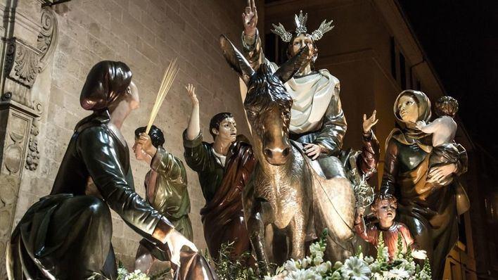 La Asociación de Cofradías suspende la procesión de Domingo de Ramos
