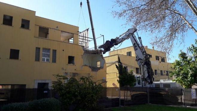 Comienzan las demoliciones en el Mollet antes de decidir el proyecto para la zona