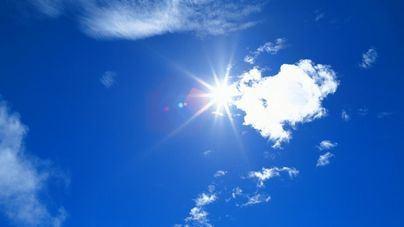 Cielos pocos nubosos y subida de la temperatura este lunes en Balears