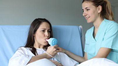 """La Juaneda utiliza el gas """"de la risa"""" para aliviar el dolor del parto"""