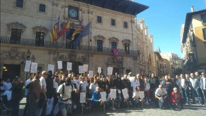 Trabajadores del Grupo Cursach expresan a Noguera su