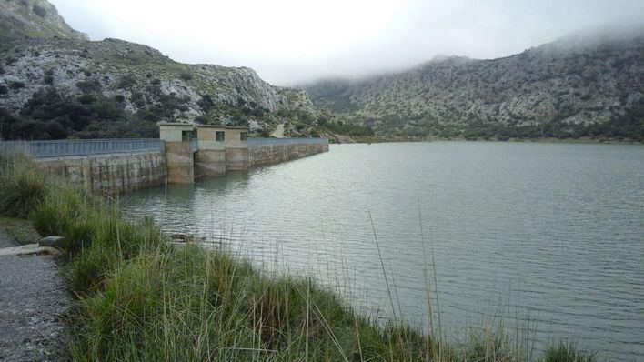 Los embalses de Gorg Blau y Cúber, al límite de su capacidad tras las lluvias
