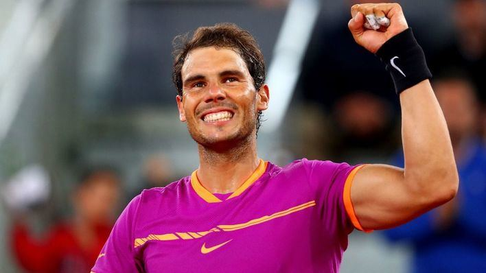 Rafa Nadal encabeza el cuadro masculino del Mutua Madrid Open