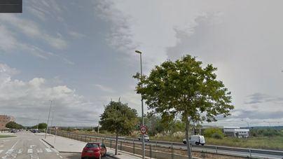 Fallece el motorista arrollado por un coche en el Polígon de Son Oms