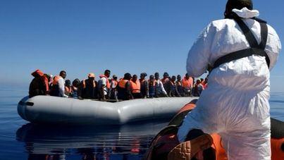 MSF y SOS Mediterraneé rescatan a 129 personas frente a la costa Libia