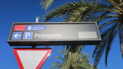 Santa Ponça estrena paneles informativos sobre sus aparcamientos