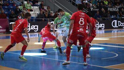 Al Palma Futsal se le escapa la victoria ante el Naturpellet Segovia