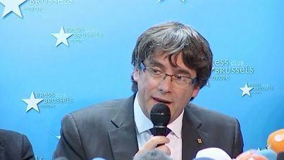 Puigdemont alega al Supremo que el 1-O no hubo 'violencia'