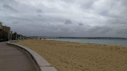 Cielos cubiertos y poco cambios en las temperaturas en Balears