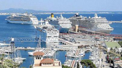 Balears suma 121.000 cruceristas en dos meses, el 166 por ciento más que el año pasado