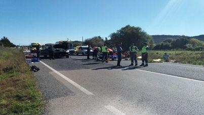 Muere uno de los ciclistas arrollados por una conductora en Capdepera