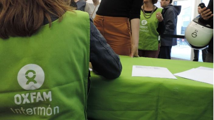 Oxfam organiza la