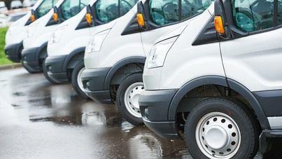 Caen un 9,3 por ciento las matriculaciones de vehículos comerciales ligeros en Balears