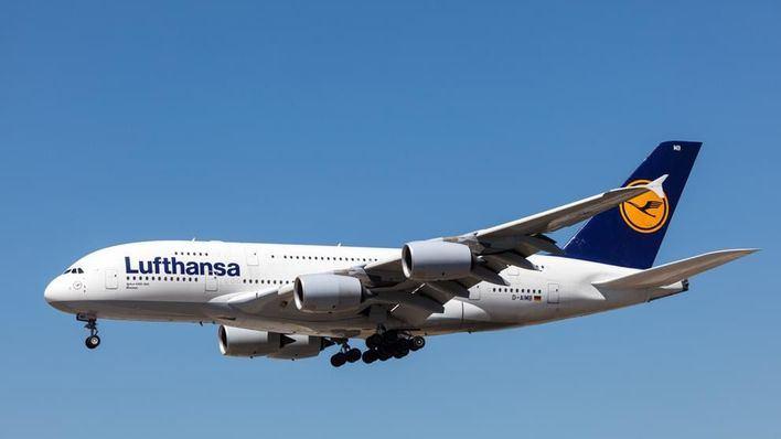 Lufthansa cancela seis vuelos que cubrían este martes Fráncfort y Palma