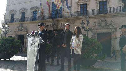 210 policías locales de Palma harán turnos extra para cubrir el dispositivo de verano