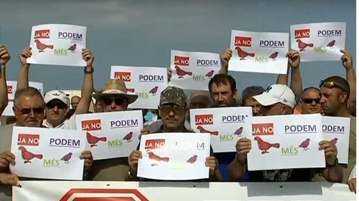 """Cazadores denuncian """"insultos y ataques"""" de animalistas y ecologistas con la """"connivencia"""" del Govern"""